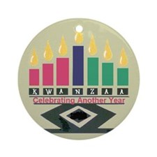 Kwanzaa Ornament (Round)