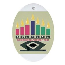 Kwanzaa Ornament (Oval)