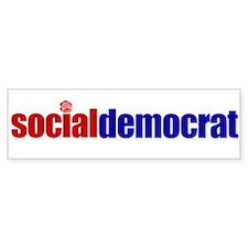 Social Democrat Bumpersticker
