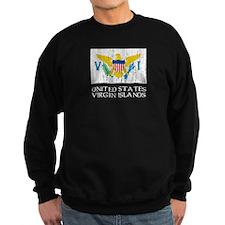 US Virgin Islands Flag Sweatshirt