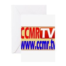 CCMR TV Network Greeting Card