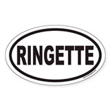 RINGETTE Euro Oval Decal