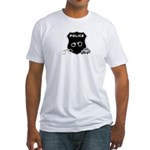 Police Crime Scene Fitted T-Shirt