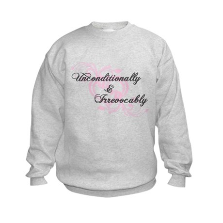 Irrevocably In Love Twilight Kids Sweatshirt