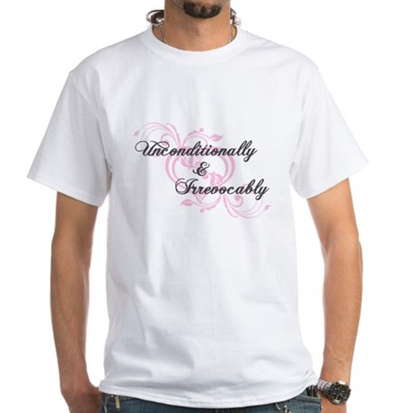 Irrevocably In Love Twilight White T-Shirt