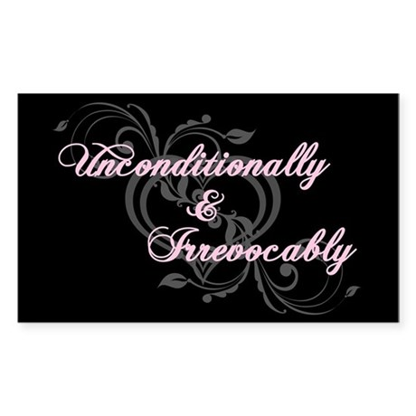 Irrevocably In Love Twilight Rectangle Sticker