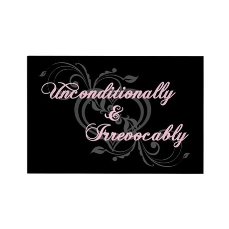 Irrevocably In Love Twilight Rectangle Magnet (100
