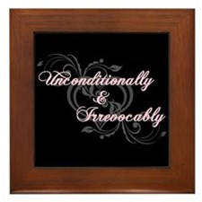Irrevocably In Love Twilight Framed Tile
