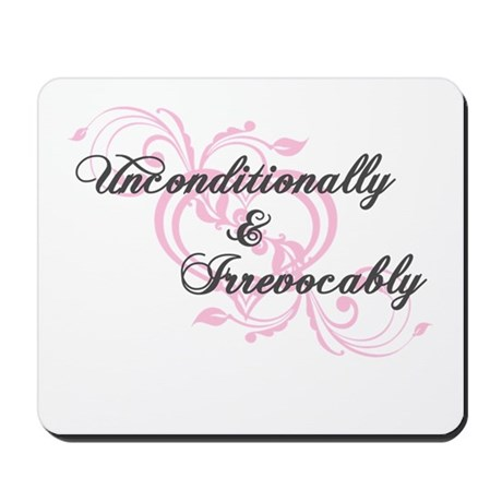 Irrevocably In Love Twilight Mousepad