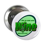 "I Love Wine 2.25"" Button (10 pack)"