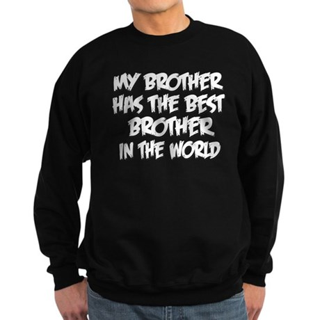 Best Brother Sweatshirt (dark)