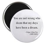 Edgar Allan Poe 23 Magnet
