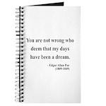 Edgar Allan Poe 23 Journal
