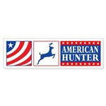 American Hunter Bumper Sticker