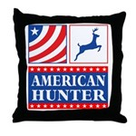 American Hunter Throw Pillow