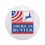 American Hunter Ornament (Round)