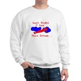 Funny airplane aeroplane Sweatshirt