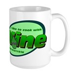 I Love Wine Large Mug