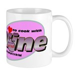 I Love Wine Mug