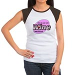 I Love Wine Women's Cap Sleeve T-Shirt