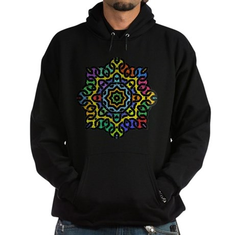 Colorful Knotwork Hoodie (dark)