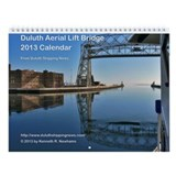 Lift Bridge Wall Calendar