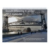 Duluth winter wall calendar