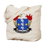 McLellan Family Crest Tote Bag