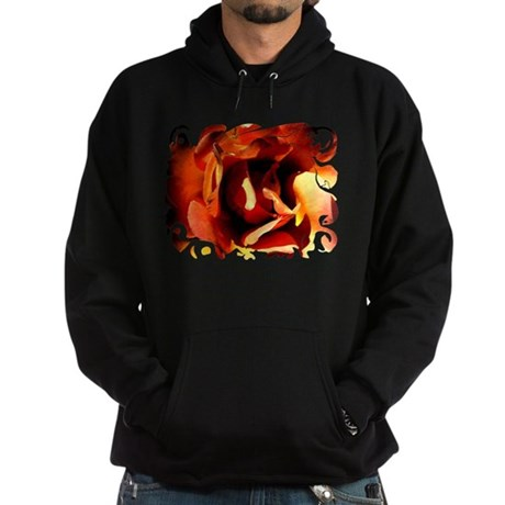 Painted Rose Hoodie (dark)