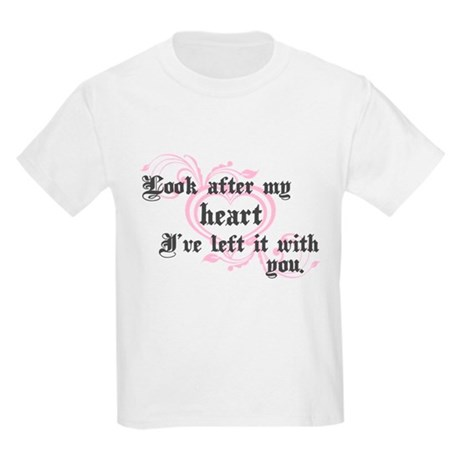 Edward Heart Twilight Kids Light T-Shirt