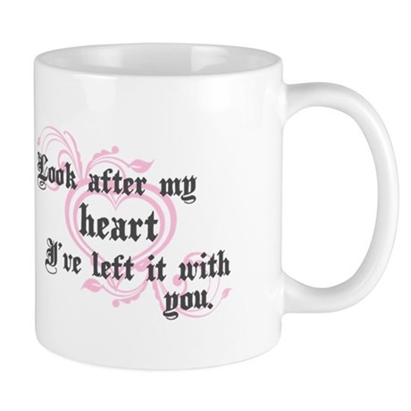 Edward Heart Twilight Mug