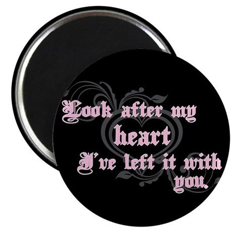 Edward Heart Twilight Magnet