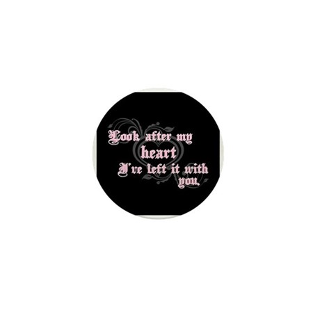 Edward Heart Twilight Mini Button (10 pack)