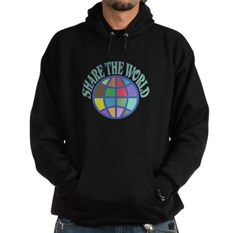 Share the World Hoodie (dark)