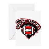 South Carolina Football Greeting Card