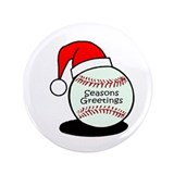 "Baseball Greetings 3.5"" Button"