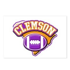 Clemson Football Postcards (Package of 8)