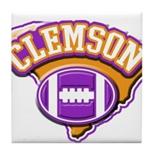 Clemson Football Tile Coaster