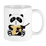 Panda Bear Guitar Small Mug