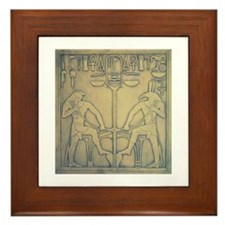 Horus & Set Framed Tile