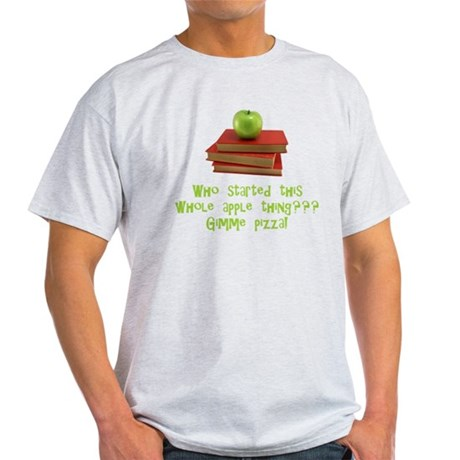 Teacher's Apple Light T-Shirt