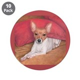 Toy Fox Terrier 3.5&quot; Button (10 pack)