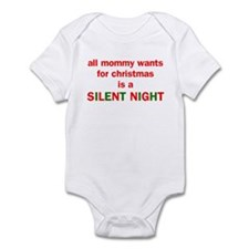 All mommy wants for christmas Infant Bodysuit