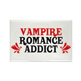Vampire Romance Addict Rectangle Magnet