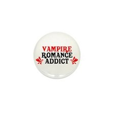 Vampire Romance Addict Mini Button (10 pack)