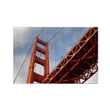 Golden Gate Bridge Photography Rectangle Magnet