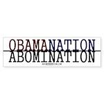 OBAMANATION Bumper Sticker (10 pk)