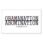 OBAMANATION Rectangle Sticker