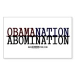 OBAMANATION Rectangle Sticker 10 pk)