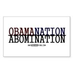 OBAMANATION Rectangle Sticker 50 pk)